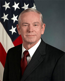 Official photo of Mr. Richard A. Robbins, Director of Total Force Planning and Requirements